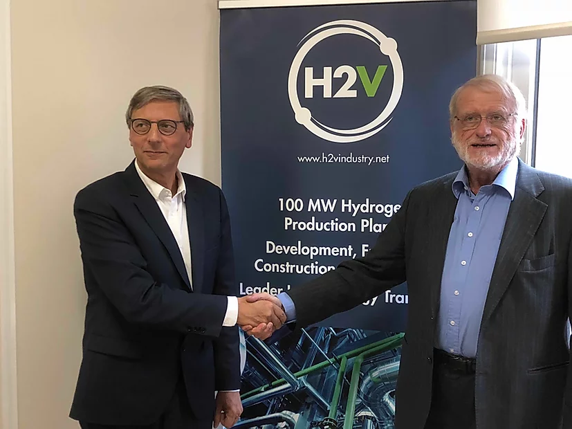 H2V Industry and HydrogenPro join forces!